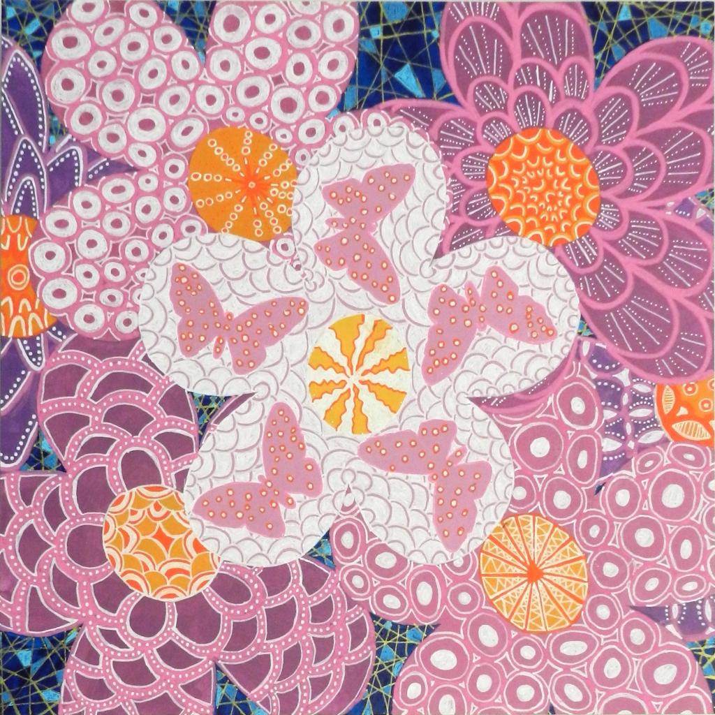 Blumen und Schmetterlinge Caroline Rager
