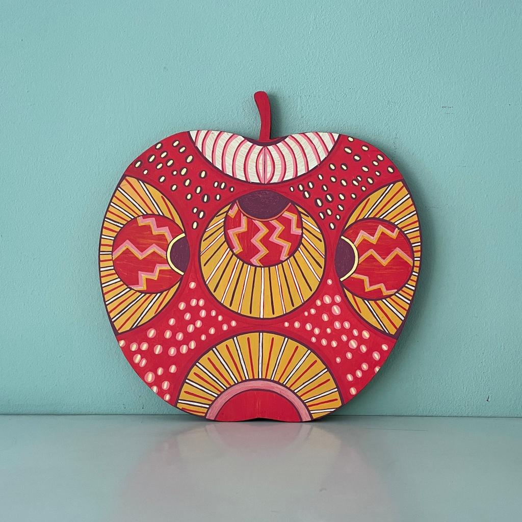 Objekt Apfel, Caroline Rager